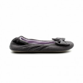 Chaussons Ballerine Grand Noeud