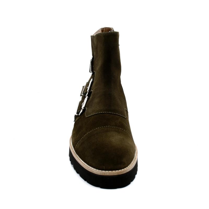0f8abd8b93b5 Boots Boucles Femme Pertini 13908 - Infinyt