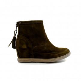Boots Compensée Pompons Femme Minka Design Noelia