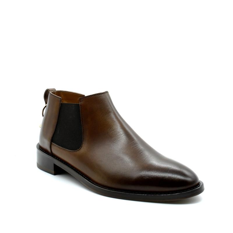 07187e351e33 Boots Chelsea Courte Femme Doucal s 8128 - Infinyt