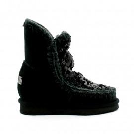 Boots Fourrée Compensée Femme MOU Eskimo Inner Wedge