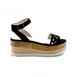 Sandale Compensée Femme Gadea 41044