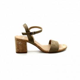 Sandale à Talon Liège Femme Perlato 10612