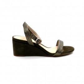 Sandale Compensée Bride Cheville Unisa Ordino