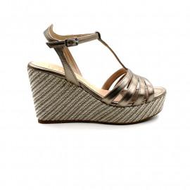 Sandale Compensée Femme Unisa Luarte