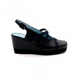 Sandale Compensée Elastiques Thierry Rabotin 2153LR