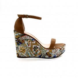Sandale Compensée Gaudi Femme Stuart Weitzman Simplewedge