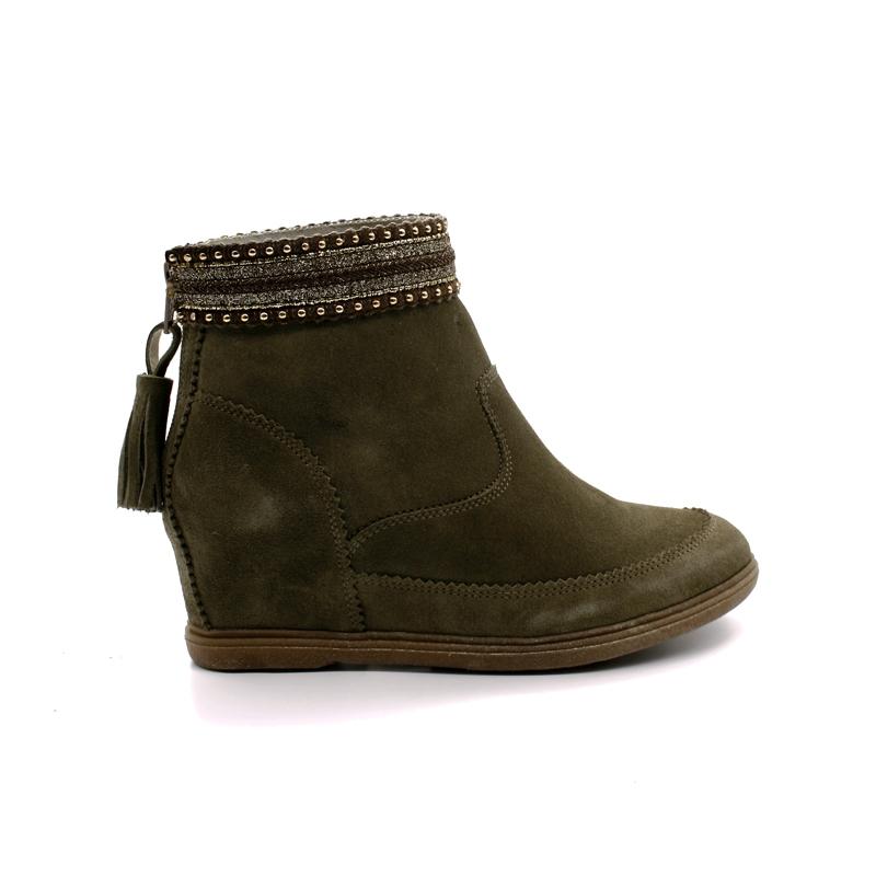 Boots Compensées Femme Minka Design Odivina