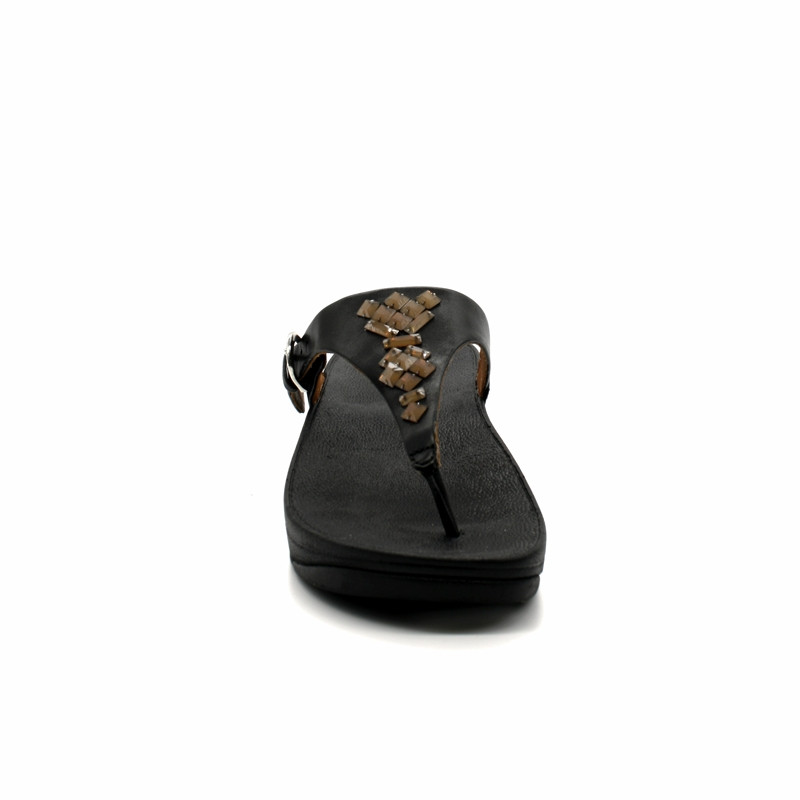 Pieds Entredoigt Skinny Toe Sandales Nu Femme Thong Fitflop The 54ARqj3L