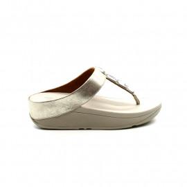 Sandale Nu-Pieds Entredoigt Femme FitFlop Roka Toe-Thong Sandale