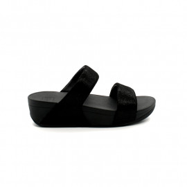 Mules Femme FitFlop Shimmy Suede Slide