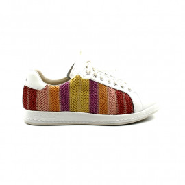 Tennis Femme Paul Smith Lapin Raffia