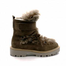Boots à Lacets Fourrure Femme Kennel&Schmenger
