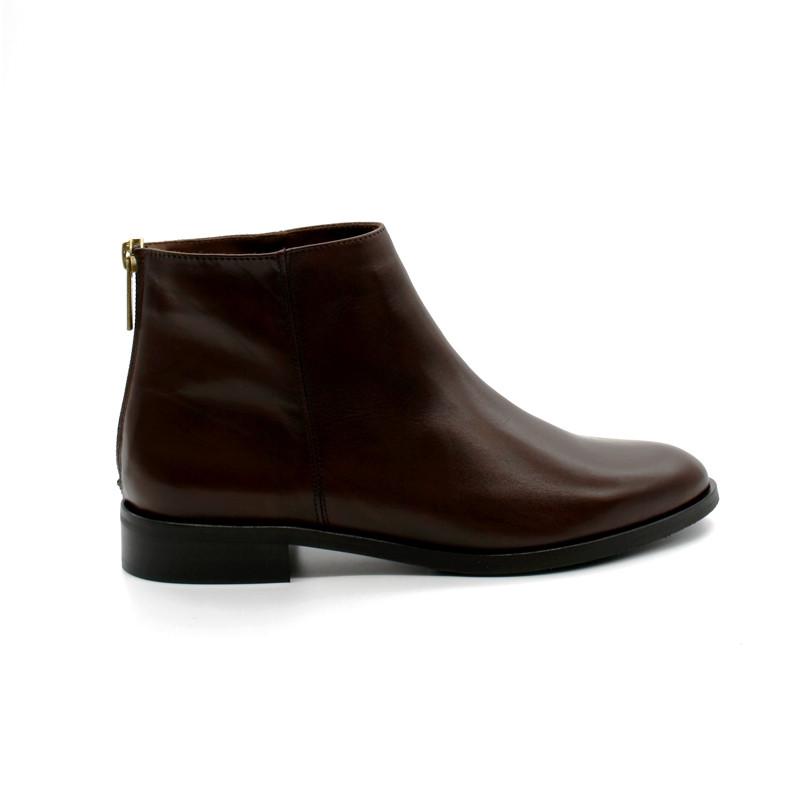 2dea6278d804 Boots Zip Arrière Pertini 15217