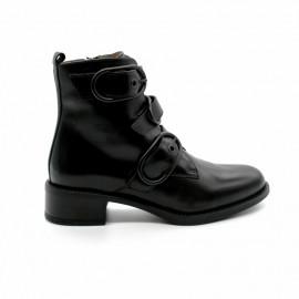 Boots Petit Talon Boucles Unisa Edwin