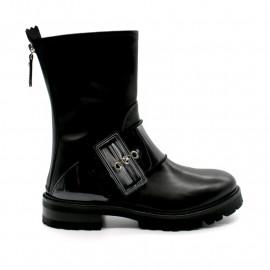 Boots Motarde Boucle Transparente AGL D716551