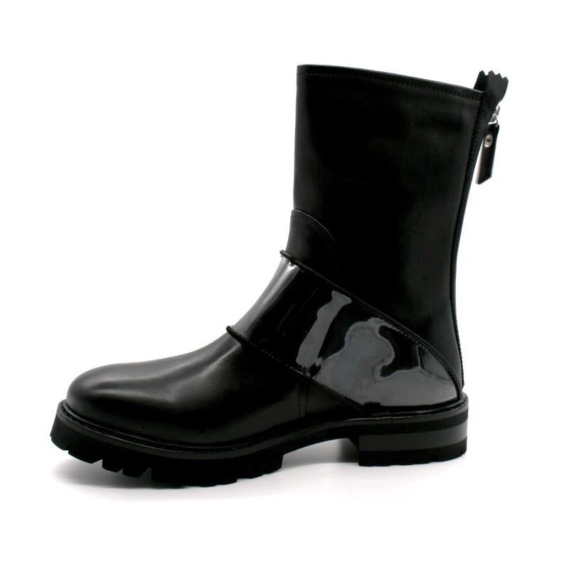 59053ebdbd21 Boots Motarde Boucle Transparente AGL D716551