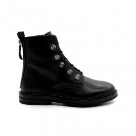 Boots à Lacets Perles Femme AGL D721547