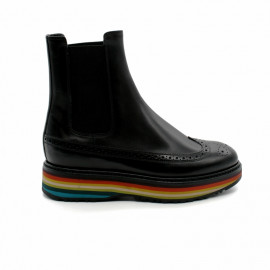 Boots Femme Semelle Bayadère Paul Smith Grand Stripe Boot