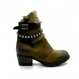Boots à Talon Fourrure Femme AS98 239206
