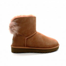 Boots Mouton UGG Fluff Bow Mini