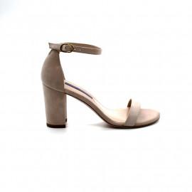 Sandale à Talon Femme Stuart Weitzman Nearlynude