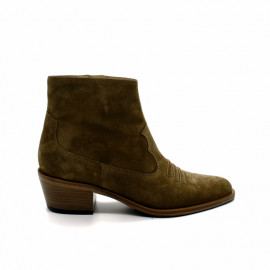 Boots à Talon Femme Free Lance Jane West Zip Boot