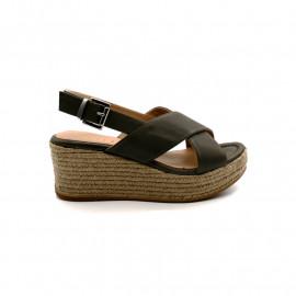 Sandale Compensée Femme Unisa Kensa