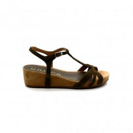 Sandale Petit Compensé Femme Unisa Belite