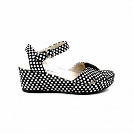 Sandale Compensée Femme Brunate 553
