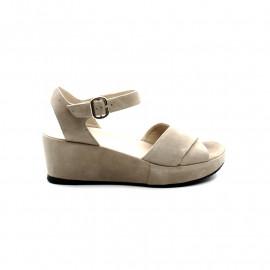 Sandale Compensée Femme Brunate 555