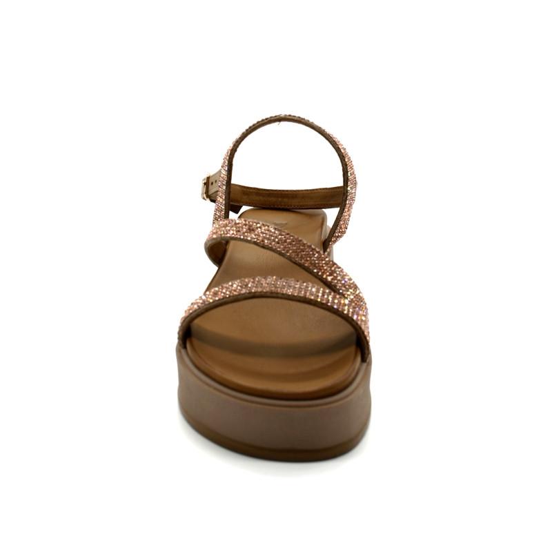Nu Pieds Sandales Compensées Femme Inuovo 112002 Infinyt