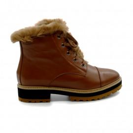Boots à Talon Fourrure Femme Gadea 41726