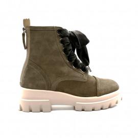 Boots à Lacets Femme AGL D756523