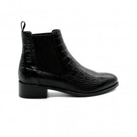Boots Cheslea Reptile Femme Pertini 15421
