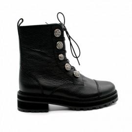 Boots à Lacets Femme Pertini 16204