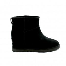 Boots Fourrées Compensées Femme UGG Classic Mini