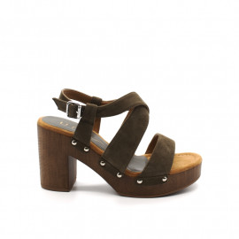 Sandales À Talon Unisa Terrat Bloc