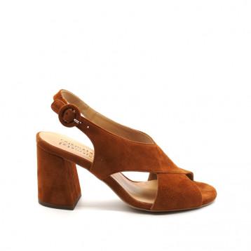 Sandales À Talon Rose Métal H0569 Emery