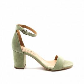Sandales À Talons Rose Métal H0567 Emerald