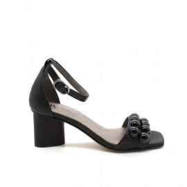 Sandales À Talon Pertini 16989 Noir