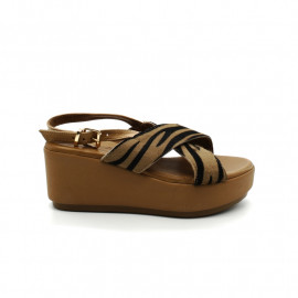 Sandales Compensées Inuovo 123044 Tiger