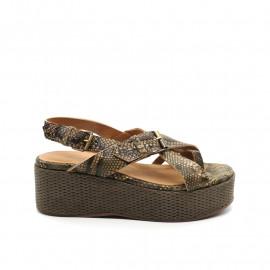 Sandales Compensées Minka Taylor Python