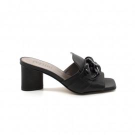 Mules Femme Pertini 16636 Noir