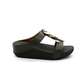 Mules Femme Fitflop Fino Dragon Fly Slide