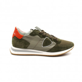 Sneakers Homme Philippe Model Trpx Mondial Militaire