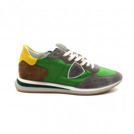 Sneakers Homme Philippe Model Trpx Mondial Pop 70 Vert