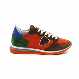 Sneakers Homme Philippe Model Trpx Mondial Pop 70 Orange