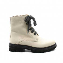 Boots Lacets Femme Fratelli Rosana 888 Ivoire