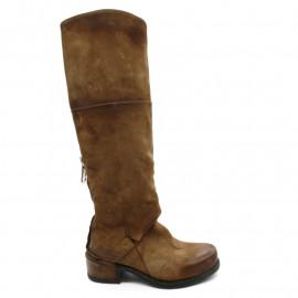 Bottes Femme AS98 545310  Camel Calvados